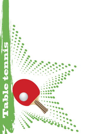 Table tennis poster