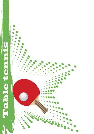 tischtennis: Tischtennis poster