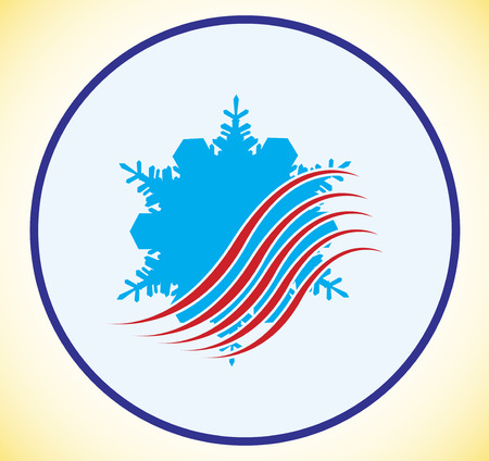 heating engineers: Air logo Illustration
