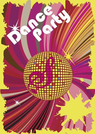 limelight: Dance party poster