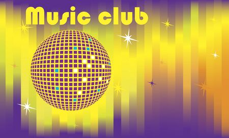 abstract dance: Abstract dance club banner