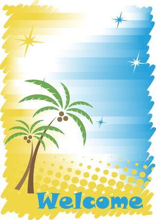 seacoast: Sunny tropic seacoast