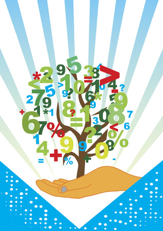 accountancy: Accountancy tree Illustration