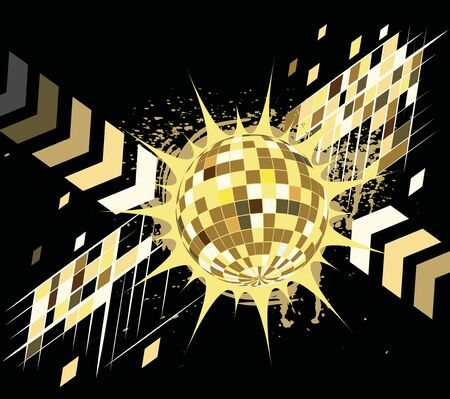 limelight: Dance party.Abstract background