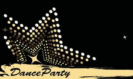 Klub tańca poziome banner