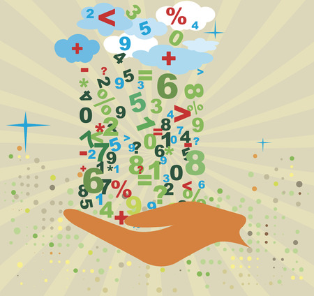 Contabilità background.Abstract motive.Banking matematica. Archivio Fotografico - 67509845