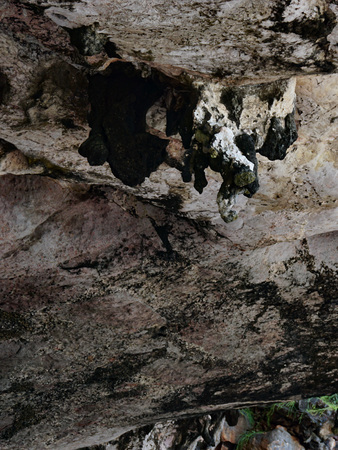Stone caves on the island, Phuket, Thailand