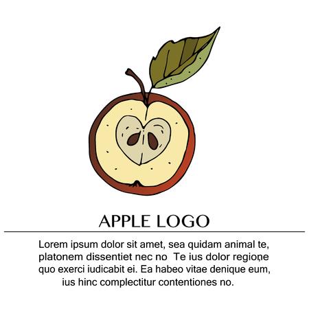 Handdrawn vector doodle logo.