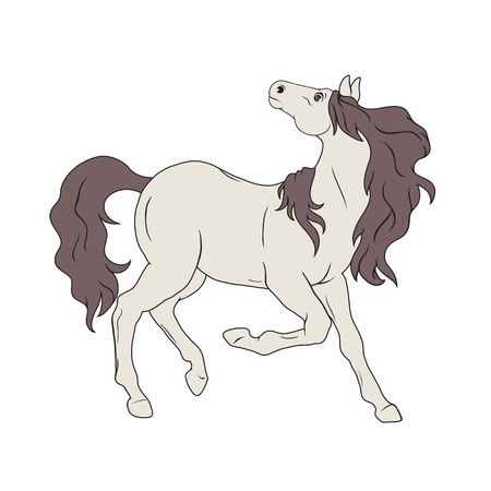 Horse without ammunition Vector