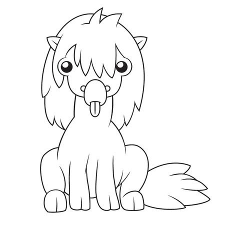 hoodlum: Cartoon horse
