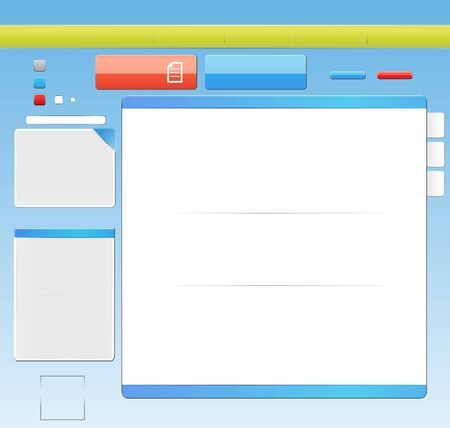 Template web design Vector