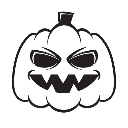 spooky eyes: Pumpkin Illustration