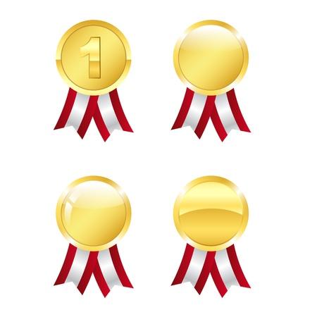 Golden awards Stock Vector - 15216097