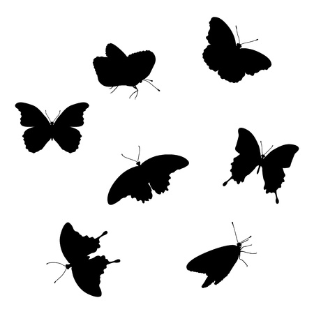 Set of butterflies Stock Vector - 15977484