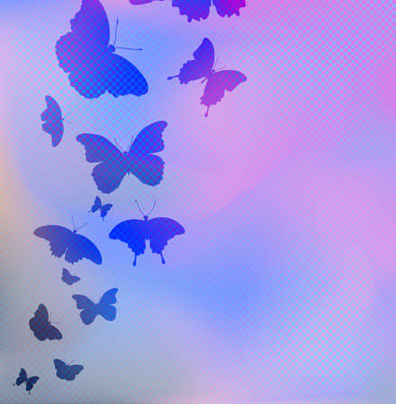 pastel color: Vector illustration of abstract background Illustration
