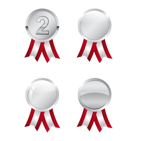 Silver awards Vector