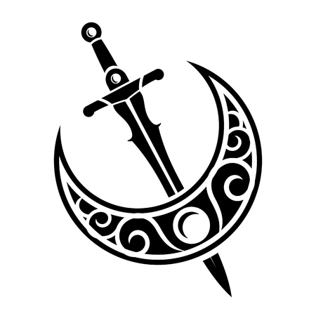 kılıç: Kılıç Antik Silah Tasarım Çizim