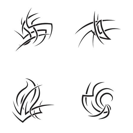 pinstripe: Tattoo design