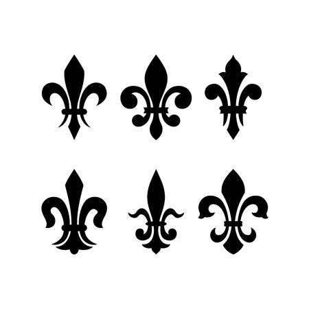 heraldic symbol fleur de lis: Heraldic symbol fleur de lis
