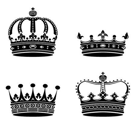 Crowns collection Stock Vector - 19732187