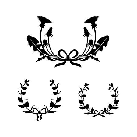 honeysuckle: Dandelion and honeysuckle