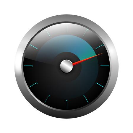ベクトル速度計イラスト デザイン。
