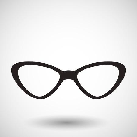 eye wear: icono de anteojos