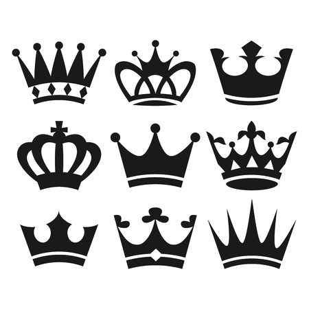 Crown icons 일러스트