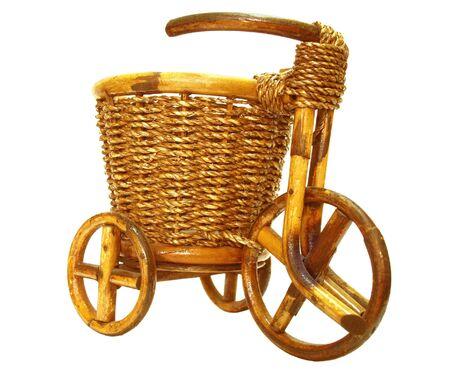 original bike: Decorative basket