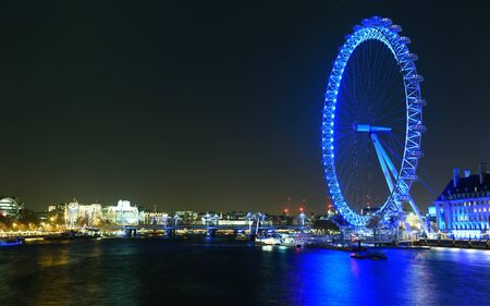 ligh: london eye Editorial