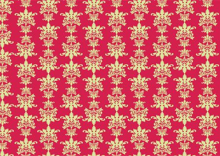 purpule: Vector illustration of retro swirl pattern on the purpule background. Illustration