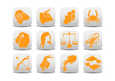 Vector illustration of zodiac icons .You can use it for your website, application or presentation Vector