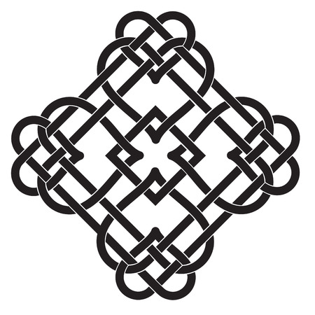 keltische muster: Vektor-Illustration von Celtic Knot Motif