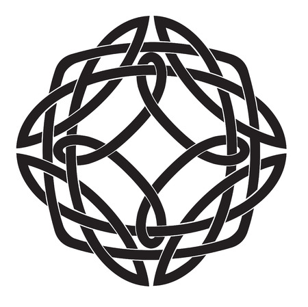 keltische muster: Vektor-Illustration von Celtic Knot-Motif  Illustration