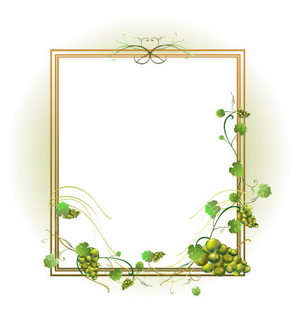 Vector illustraition of elegant floral frame Vector