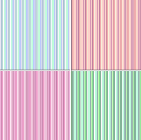 Vector Illustration of Retro seamless backgrounds. May be used as desktop wallpaper, web page backgrounds or in print Vector