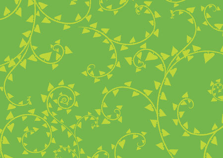 Vector illustration of swirl background in the green colours Vector