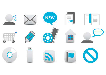 Vector illustration of different Professional icons. You can use it for your website, application, or presentation Stock Vector - 4892105