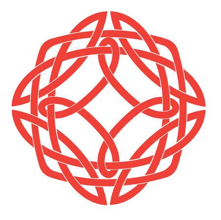 Vector Illustration of Celtic Knot Motif Stock Vector - 4992066