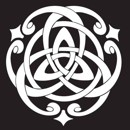 Vector Illustration de Celtic Knot Motif Illustration