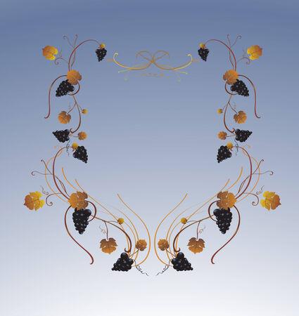 Vector illustraition of elegant floral frame Stock Vector - 5566084