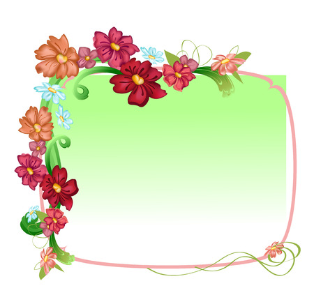 Vector illustraition  of elegant floral frames Stock Vector - 5566081