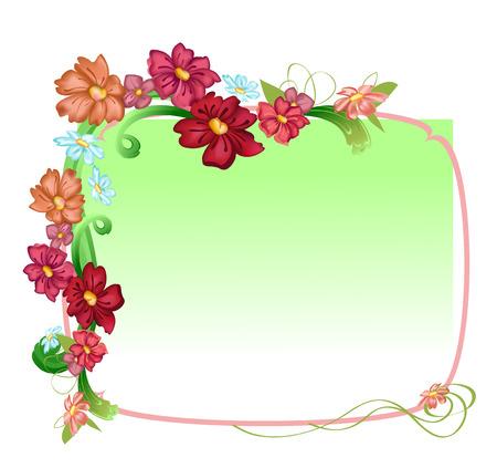 Vector illustraition  of elegant floral frames Stock Vector - 5566081