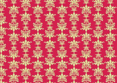 purpule: illustration of retro swirl pattern on the purpule background.