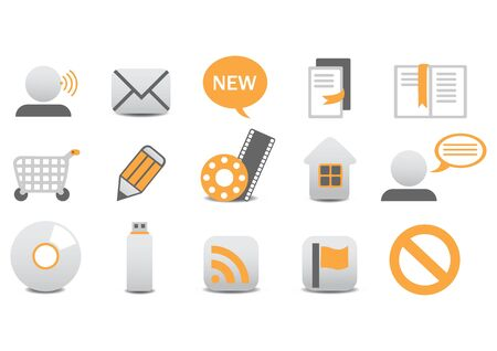 illustration of different Professional icons. You can use it for your website, application, or presentation Stock Illustration - 6283776