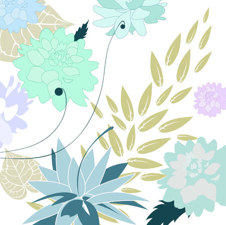 Illustration of stylish floral background Stock Vector - 6785097