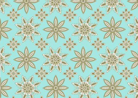 illustration of  snowflake pattern . Winter season  design element that can be used as background Stock Vector - 6939741