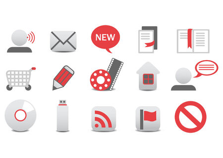 illustration of different Professional icons. Stock Vector - 6939871
