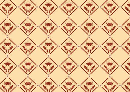 illustraition: illustraition of retro abstract Swirl Pattern background