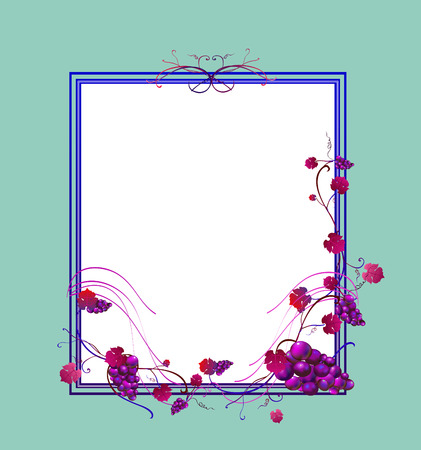 illustration of elegant floral frame Vector